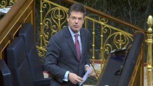 Rafael Català a la sessió d'avui al Congrés dels Diputats