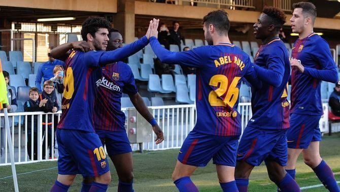 El Barça B visita l'Osca amb l'objectiu de sortir de la zona de descens