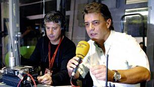 Joaquim Maria Puyal durant una transmissió