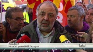 Tarragona fa la primera vaga en tota la indústria química