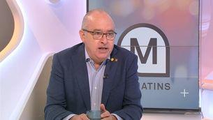 """Bargalló defensa que es facin extraescolars """"amb les màximes garanties possibles"""""""