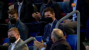 """Joan Laporta: """"Perdona, Leo, que en faci referència aquí"""""""
