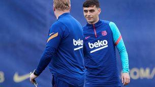 El Barça avança les vacances a Pedri