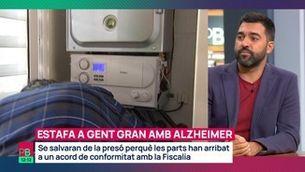 Estafa a gent gran amb Alzheimer