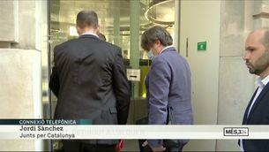"""Jordi Sànchez: """"Hem activat tot el suport al president Puigdemont"""""""
