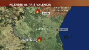 Primera víctima mortal dels incendis valencians