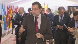 Rajoy insisteix en la vigència de la Consititució