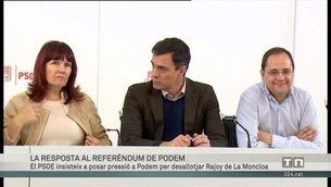 La resposta dels partits al referèndum de Podem