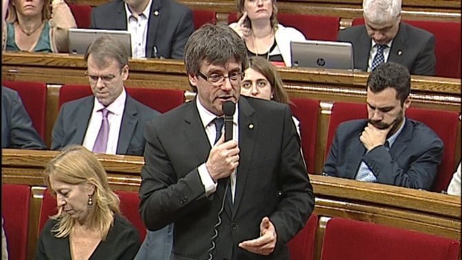 """La CUP estén la mà a refer l'entesa i Puigdemont li respon: """"Els millors ponts són aquells que no es dinamiten"""""""