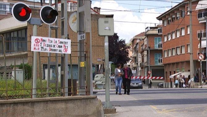 Montcada i Reixac critica la proposta de Foment de pagar només el 50% del cost del soterrament de les vies