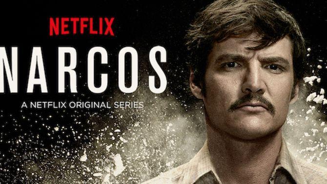"""Imatge de promoció de la sèrie """"Narcos"""""""
