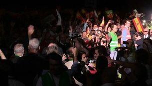 Míting massiu de Vox a Madrid en què reclama la supressió de les autonomies