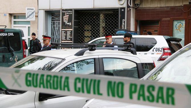 9 detinguts vinculats als CDR, investigats per terrorisme, rebel·lió i tinença d'explosius