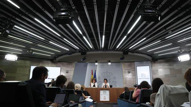 Roda de premsa posterior al Consell de Ministres (EFE)