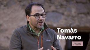 """Tomàs Navarrò: """"Sense cap mena de dubte, hi ha persones tòxiques"""""""