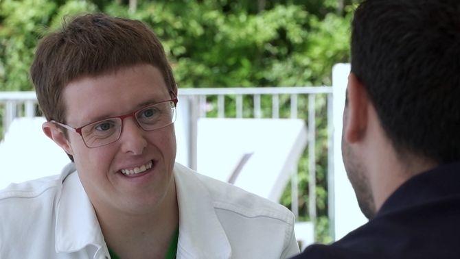 """Eloi Collell: """"Les persones amb síndrome de Down som capaces de fer un programa de televisió"""""""