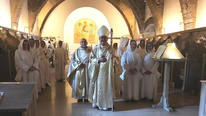 La diòcesi de Barbastre-Montsó acomiada les monges de Sixena. 8 juliol 2020