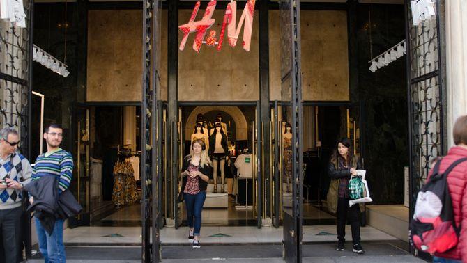 H&M tancarà 7 botigues a Catalunya i anuncia un ERO per a 1.100 treballadors a Espanya