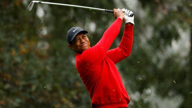 Tiger Woods conduïa al doble de la velocitat permesa