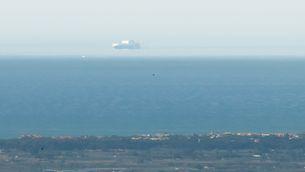 Un vaixell volador davant de Barcelona?