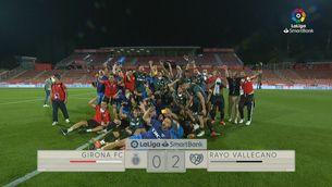 Resum del Girona - Rayo (0-2)