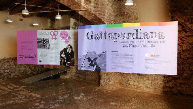L'exposició fa un recorregut històric de les fites aconseguides pel col·lectiuLGTBIQ+ en l'últim segle