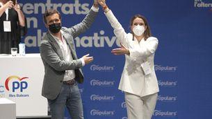 Casado ha fet aquestes declaracions en un acte amb la nova presidenta del PP balear, Margarita Prohens (Europa Press/Isaac Buj)