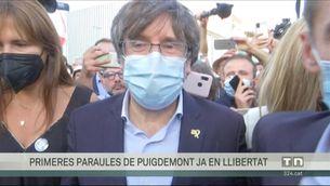 Puigdemont surt en llibertat i compareixerà el 4 d'octubre davant el jutge