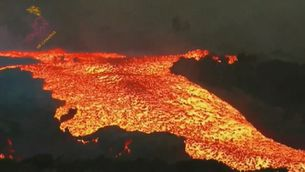 """Volcà de La Palma: un tsunami de lava que avança a una """"velocitat impressionant"""""""