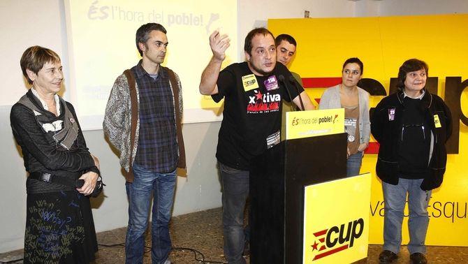 La CUP descarta formar grup parlamentari amb dos diputats d'ICV-EUiA