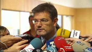 El ministre de Justícia, Rafael Catalá, en una imatge d'arxiu