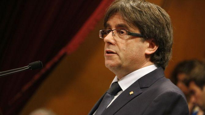 Puigdemont anuncia que convocarà el referèndum sobre la independència al setembre del 2017