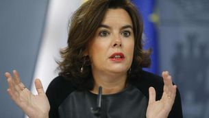 La vicepresidenta del govern espanyol, Soraya Sáenz de Santamaría, en una imatge d'arxiu