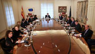 Imatge d'arxiu d'un consell de ministres presidit per Mariano Rajoy (Reuters)