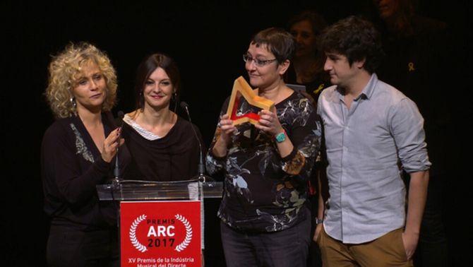 """""""El matí de Catalunya Ràdio"""", Premi ARC al millor programa amb continguts musicals"""