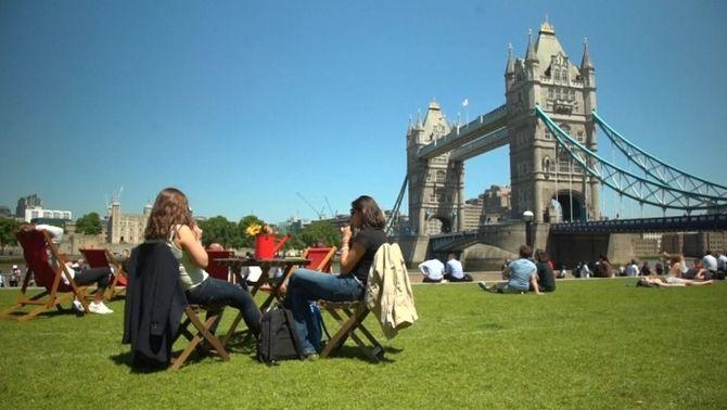 Onada de calor al Regne Unit