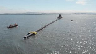 The Ocean Cleanup comença a netejar la gran illa de plàstic del Pacífic