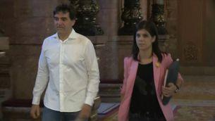 Divisió entre Junts per Catalunya i Esquerra pels vots dels diputats processats