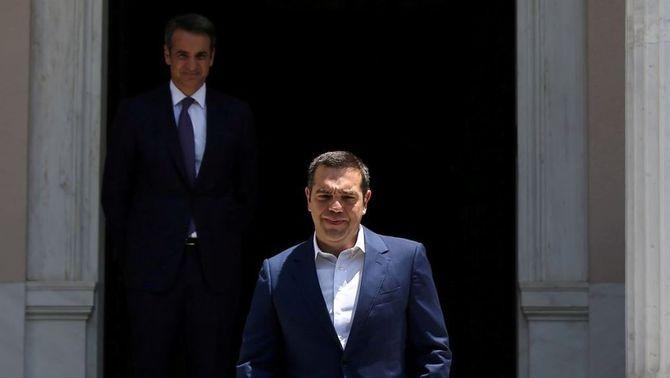 Grècia vira a la dreta amb Mitsotakis i diu adeu a la Syriza de Tsipras