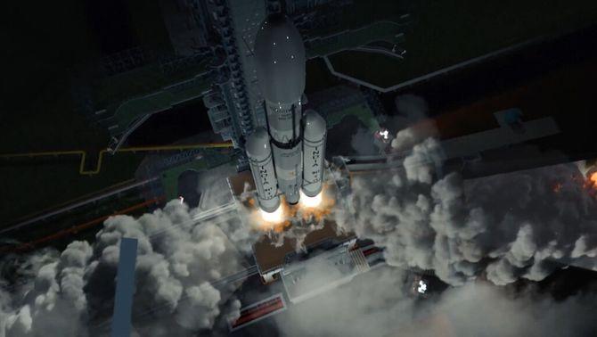 L'Índia, a punt de convertir-se en el quart país que aterra a la Lluna