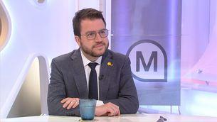 """Pere Aragonès: """"No hi haurà un acord amb el PSC"""""""
