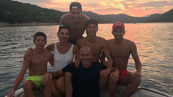 """Théo, el nou protagonista de la """"nissaga de Zidanes"""""""