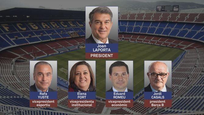 Formalitzats els càrrecs de la junta directiva del Barça