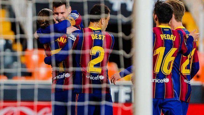El Barça no perd el tren de la Lliga