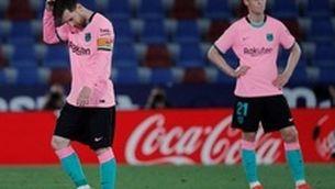 La Lliga, missió gairebé impossible per al Barça (3-3)