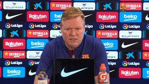 """Ronald Koeman: """"Puc i vull seguir si tinc la confiança del club"""""""