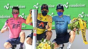 Carapaz s'emporta el Tour de Suïssa i apunta al Tour