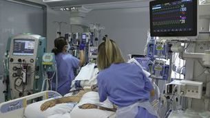 Imatge d'una UCI hospitalària