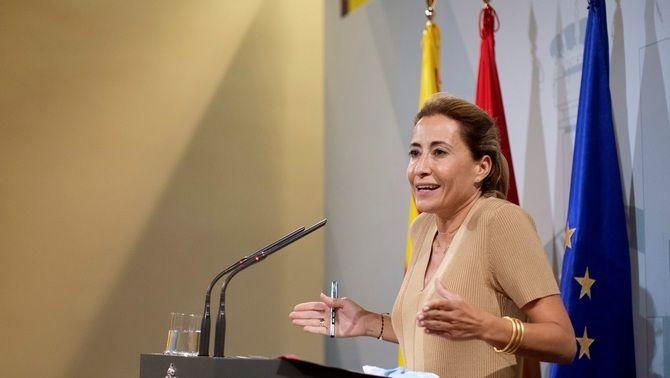 La ministra de Transports, Raquel Sánchez, parla d''oportunitat perduda' en la inversió de l'aeroport del Prat