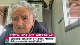 "Pepe Mujica, decebut amb el rei emèrit: ""Vaig sentir pena quan va fugir"""